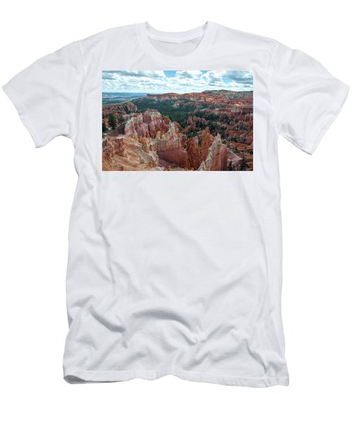 Panorama  From The Rim, Bryce Canyon  Men's T-Shirt (Athletic Fit)