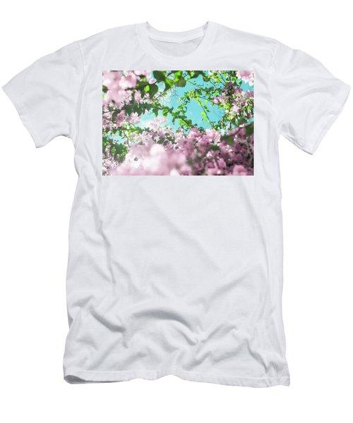 Floral Dreams II Men's T-Shirt (Athletic Fit)