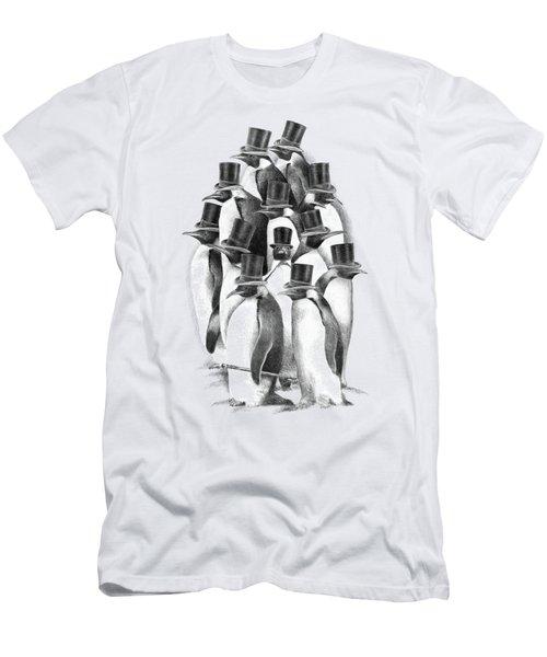 Penguin Party Men's T-Shirt (Athletic Fit)