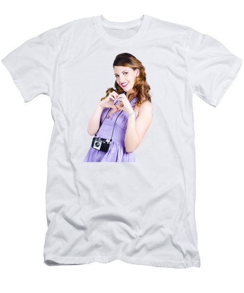 Photography Love Men's T-Shirt (Athletic Fit)