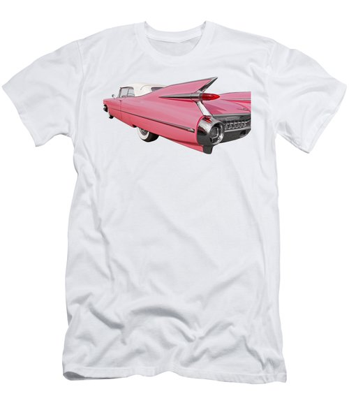 Pink Cadillac Tail Fins At Sunset Men's T-Shirt (Athletic Fit)