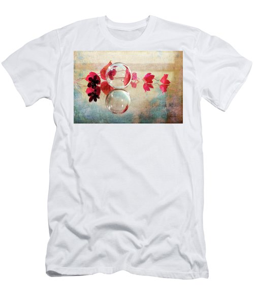 Men's T-Shirt (Athletic Fit) featuring the photograph Pink Line by Randi Grace Nilsberg