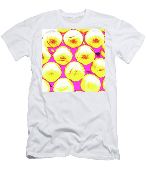Pop Art Tennis Balls Men's T-Shirt (Athletic Fit)
