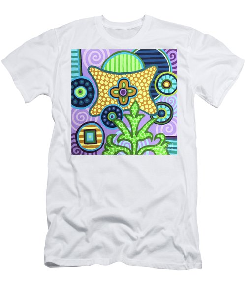 Pop Botanical 2 Men's T-Shirt (Athletic Fit)