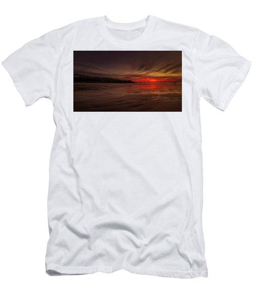 Porthmeor Sunset Men's T-Shirt (Athletic Fit)