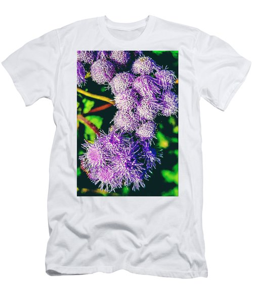 Purple Fur Men's T-Shirt (Athletic Fit)