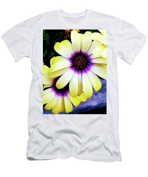 Men's T-Shirt (Athletic Fit) featuring the photograph African Daisy by Deahn      Benware