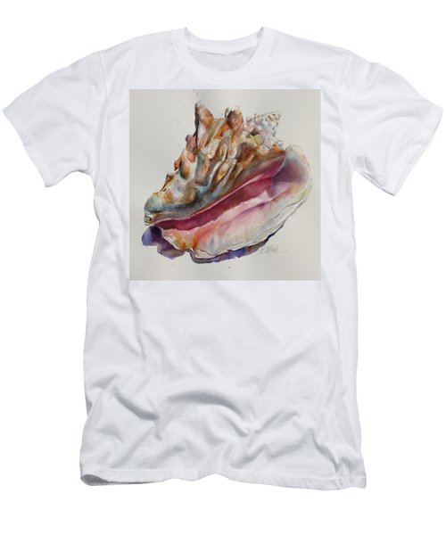 Queen Conch Shell Men's T-Shirt (Athletic Fit)