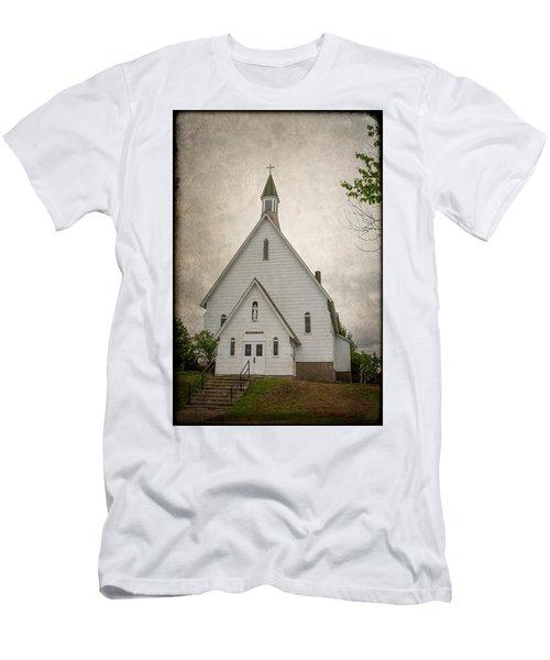 Raquette Lake Chapel Men's T-Shirt (Athletic Fit)