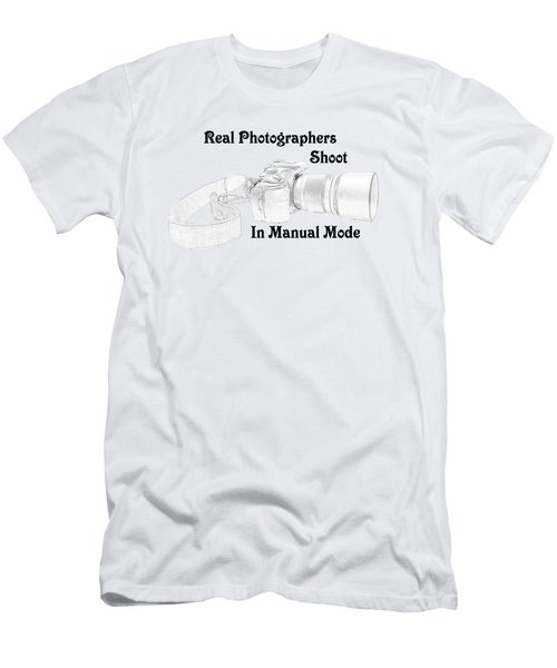 Real Photographers Men's T-Shirt (Athletic Fit)