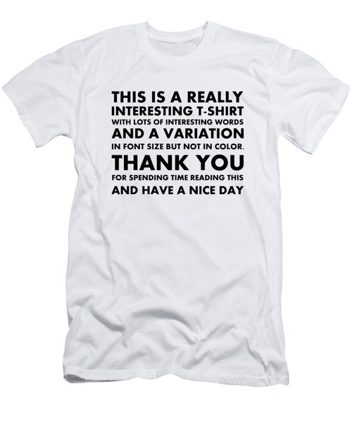 Really Interesting Tee Men's T-Shirt (Athletic Fit)