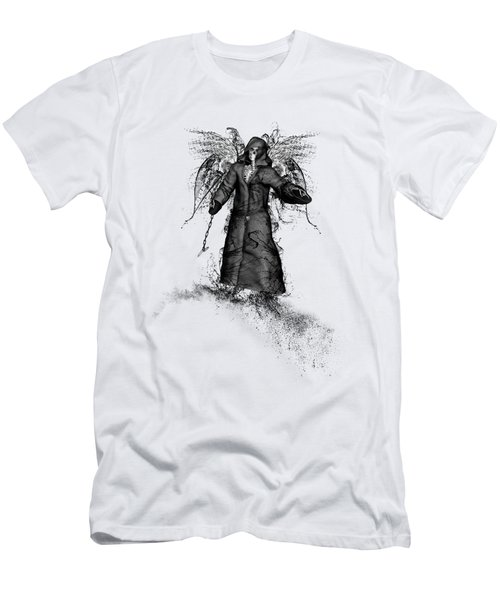Men's T-Shirt (Athletic Fit) featuring the mixed media Reaper by Bob Orsillo
