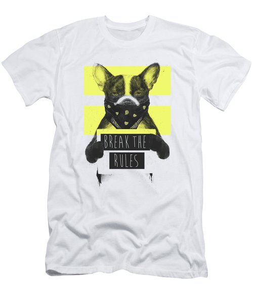 Rebel Dog II Men's T-Shirt (Athletic Fit)