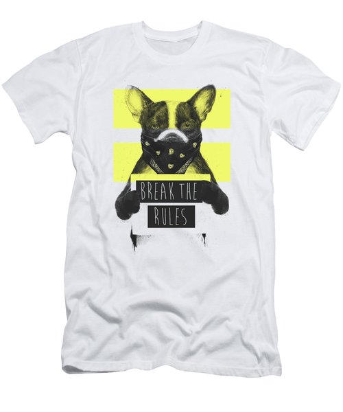 Rebel Dog II Men's T-Shirt (Athletic Fit)