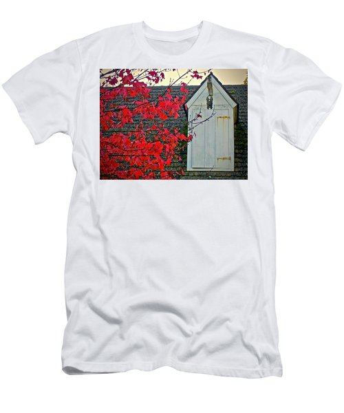 Men's T-Shirt (Athletic Fit) featuring the photograph Red... by Don Moore