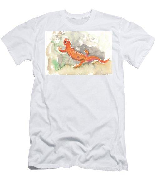 Red Eft Men's T-Shirt (Athletic Fit)