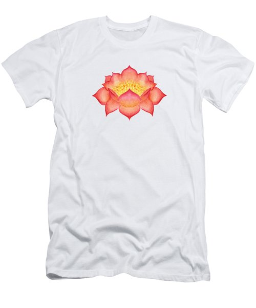 Red Lotus Men's T-Shirt (Athletic Fit)