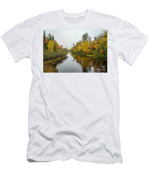 Reflections In Autumn Men's T-Shirt (Athletic Fit)