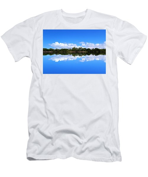 Reflective Lake Patricia Men's T-Shirt (Athletic Fit)