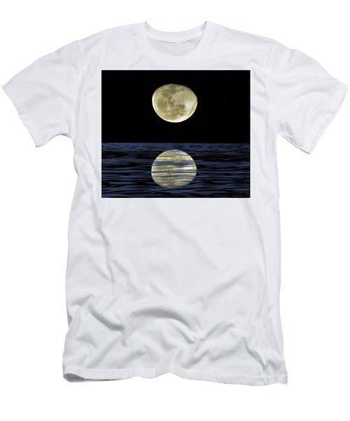 Reflective Moon Men's T-Shirt (Athletic Fit)