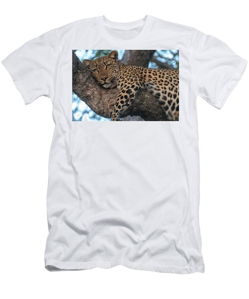 Relaxed Leopard Men's T-Shirt (Athletic Fit)