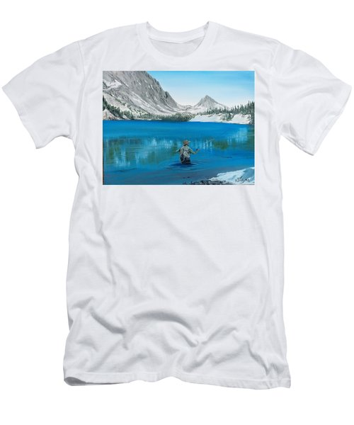 Relaxing At Skelton Men's T-Shirt (Athletic Fit)