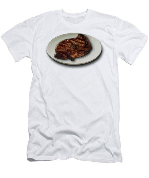 Ribeye Plate Men's T-Shirt (Athletic Fit)