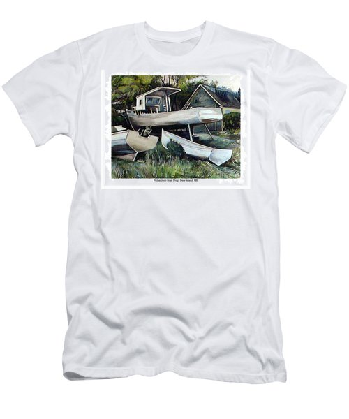 Richardson Boat Shop Men's T-Shirt (Athletic Fit)