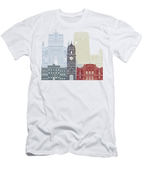 Rijeka Skyline Poster Men's T-Shirt (Athletic Fit)