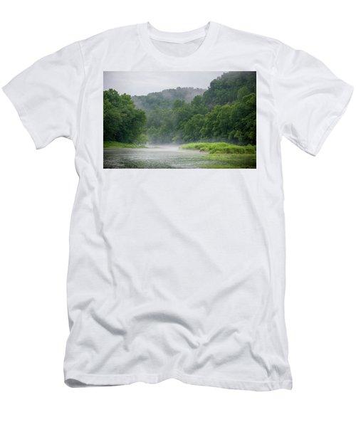 River Mist Men's T-Shirt (Athletic Fit)