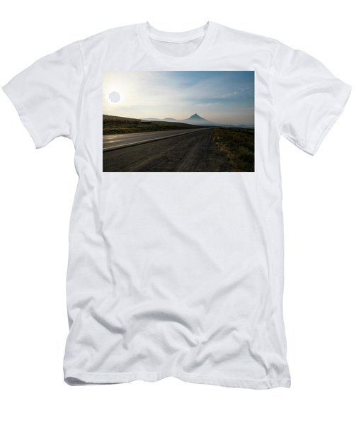 Road Through The Rockies Men's T-Shirt (Athletic Fit)