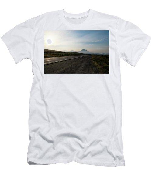 Road Through The Rockies Men's T-Shirt (Athletic Fit)