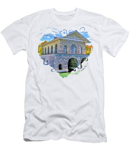 Rock Island Boathouse Men's T-Shirt (Athletic Fit)