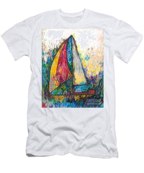 Rough Sailing Men's T-Shirt (Athletic Fit)