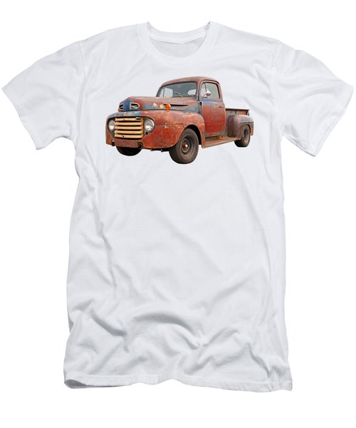 Rusty Ford Farm Truck Men's T-Shirt (Athletic Fit)