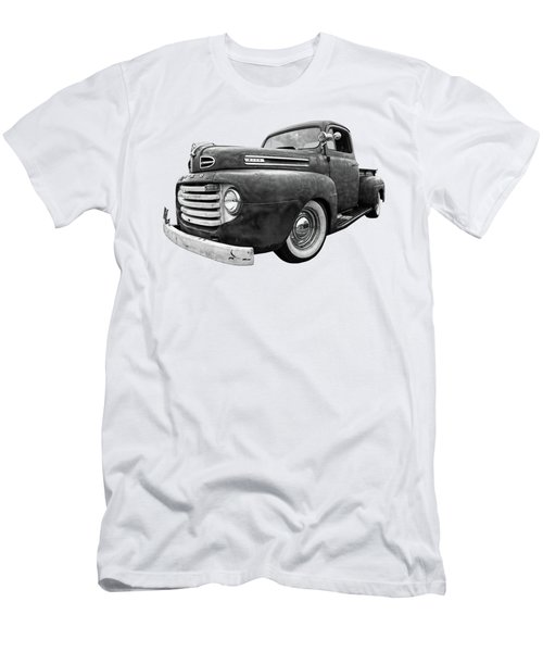 Rusty Jewel In Black And White - 1948 Ford Men's T-Shirt (Athletic Fit)