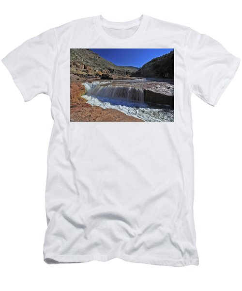 Salt Falls Men's T-Shirt (Athletic Fit)