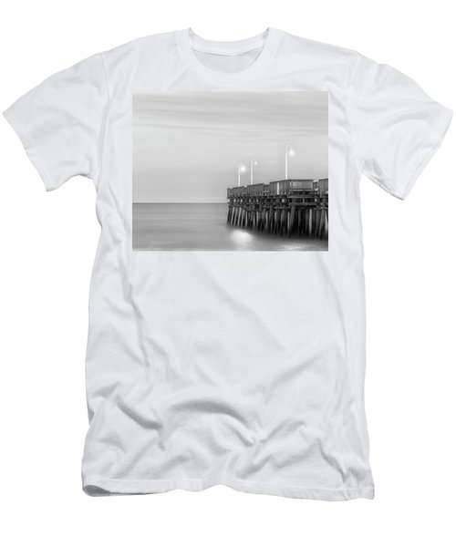 Men's T-Shirt (Athletic Fit) featuring the photograph Sandbridge Minimalist by Russell Pugh