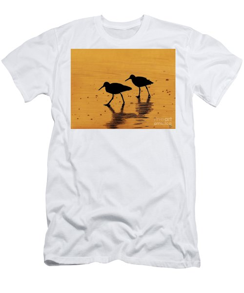 Sandpipers - At - Sunrise Men's T-Shirt (Athletic Fit)