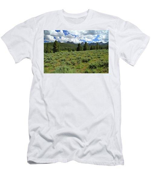 Sawtooth Range Crooked Creek Men's T-Shirt (Athletic Fit)
