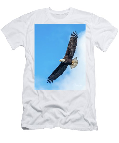 Screaming Eagle #2 Men's T-Shirt (Athletic Fit)
