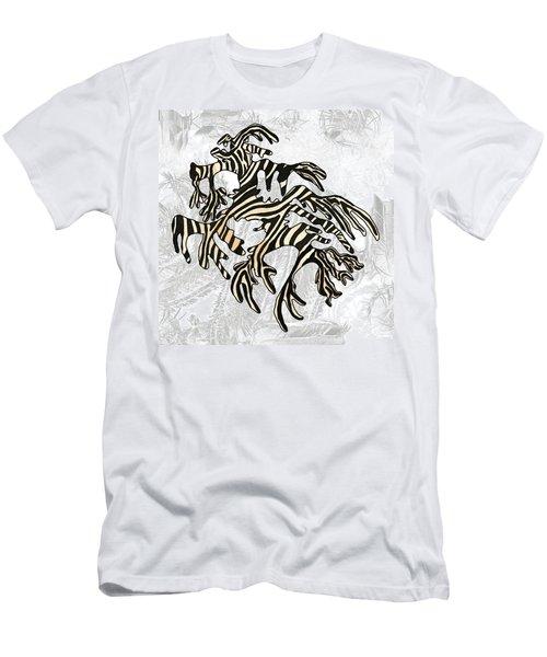 Sea Zebra Dragon 5 Men's T-Shirt (Athletic Fit)