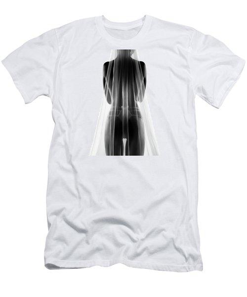 Sensual Bride In Lingerie2 Men's T-Shirt (Athletic Fit)