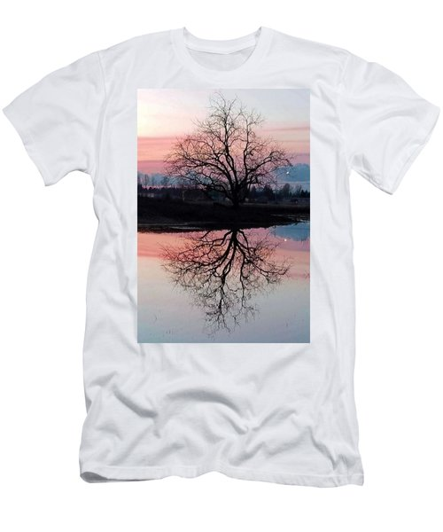 Serenity At Sunset Men's T-Shirt (Athletic Fit)