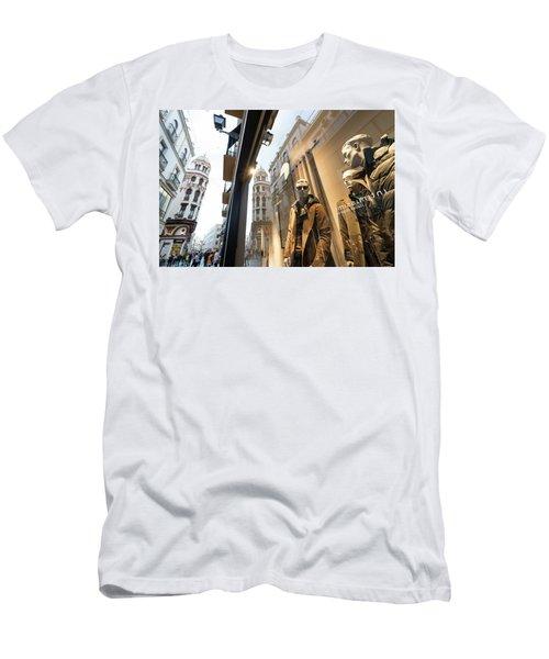 Men's T-Shirt (Athletic Fit) featuring the photograph Sevilla Streets by Alex Lapidus