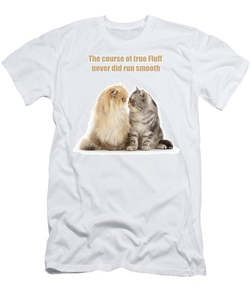 Men's T-Shirt (Athletic Fit) featuring the photograph Shakespurr Midsummer Cats Dream by Warren Photographic