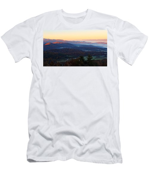 Shenandoah Mountains Men's T-Shirt (Athletic Fit)