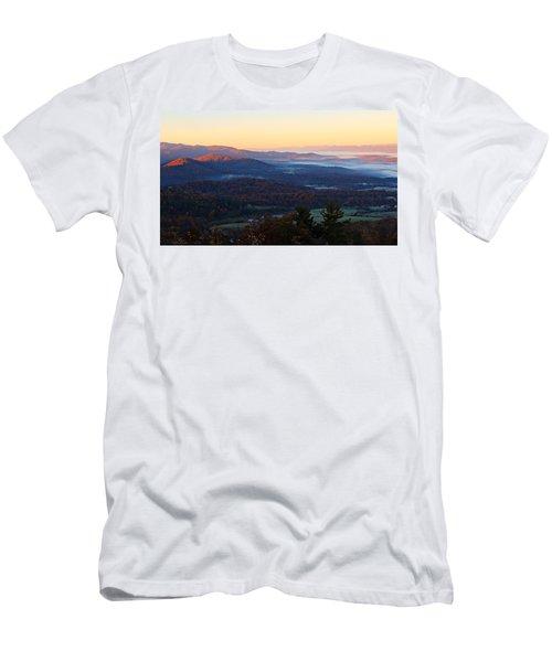 Shenandoah Mountains Men's T-Shirt (Athletic Fit)