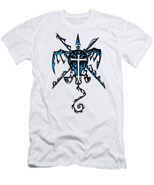 Shield Wing And Spears Men's T-Shirt (Athletic Fit)