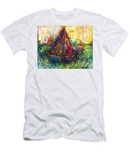 Ship In Color Men's T-Shirt (Athletic Fit)
